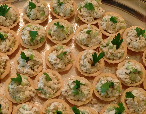 Chicken Salad Pate A Choux Just In Thyme Foods