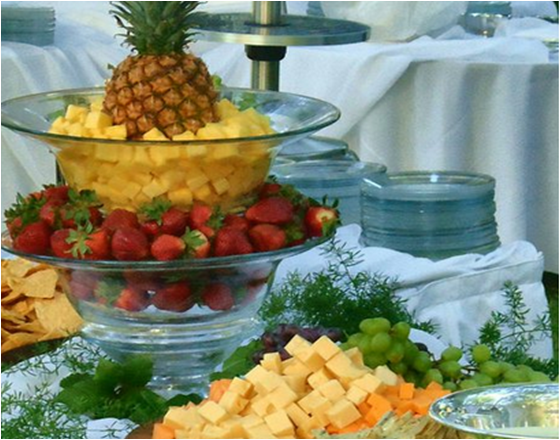 Fruit And Cheese Display 2